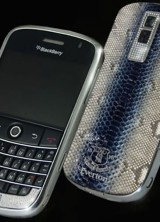 Blackberry Bold Royal Blue Edition for all Everton FC Fan
