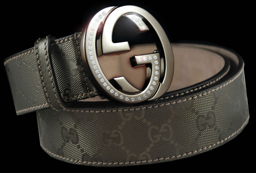 Gucci Diamond Belt