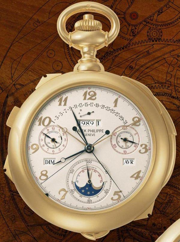 Patek Philippe Calibre 89 &#8211; Most Complex and Expensive Watch On Planet Sells For Over $5 Million