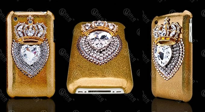 Haute Accessory: Luxury Edition Royal Crown iPhone Case with Swarovski Crystals
