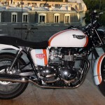 "Triumph and TAG Heuer Create a Special ""Bonneville Heuer"" Motorcycle"