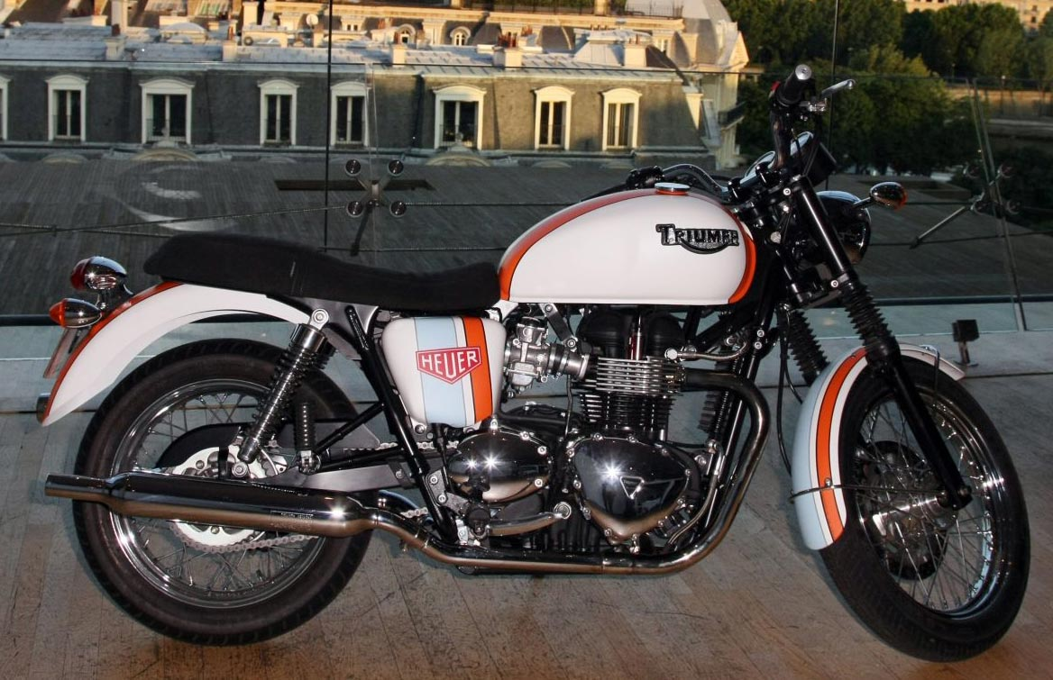 Triumph And Tag Heuer Create A Special Bonneville Heuer