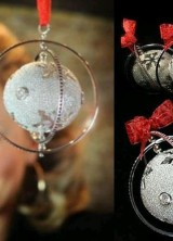 Diamond Studded Christmas Bauble Bring Luxury at Christmas
