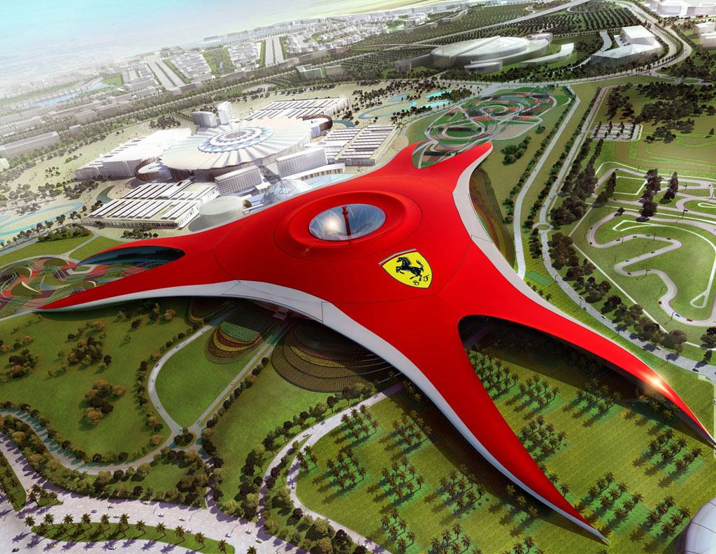 Ferrari Theme Park Opens Next Year in Abu Dhabi