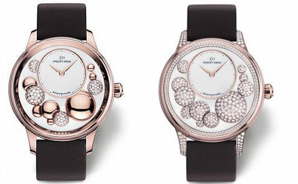 Jaquet Droz Diamond Studded Watch
