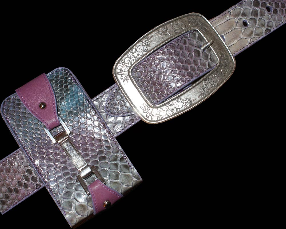snakeskin_Fashion_diamond_belt_case