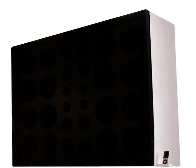 World's biggest iPod speaker: Wall of Sound