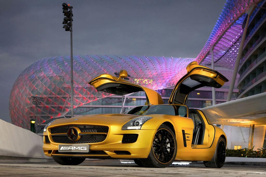 Mercedes-SLS-AMG-Desert-Gold-1