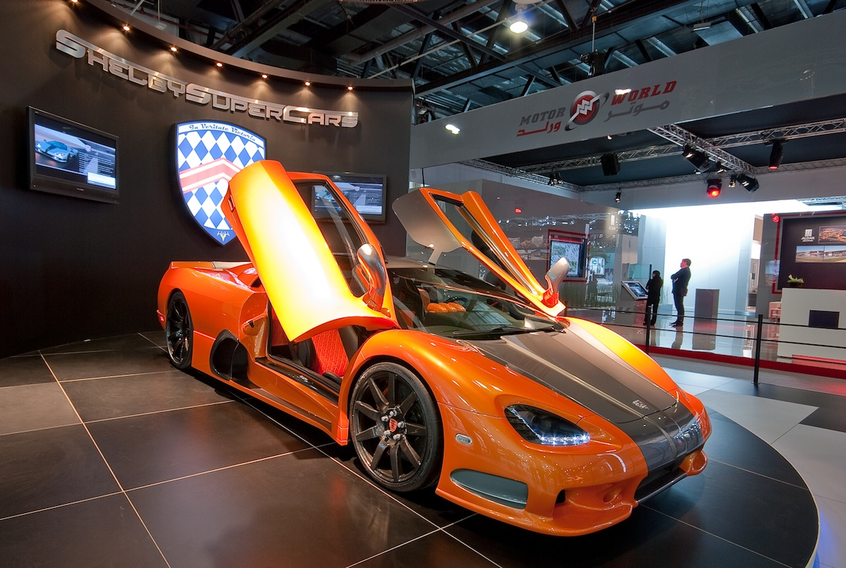 Shelby SuperCars Ultimate Aero &#8211; Revealed at the Dubai Motor Show