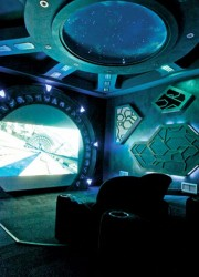Stargate Atlantis Home Theater – Very Cool Themed Home Theater