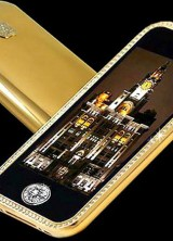 Uniquely Designed iPhone 3GS Supreme from Goldstriker – World's Most Expensive Cell Phone