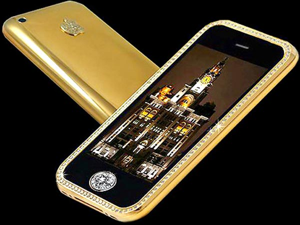 Uniquely Designed iPhone 3GS Supreme from Goldstriker &#8211; World&#8217;s Most Expensive Cell Phone