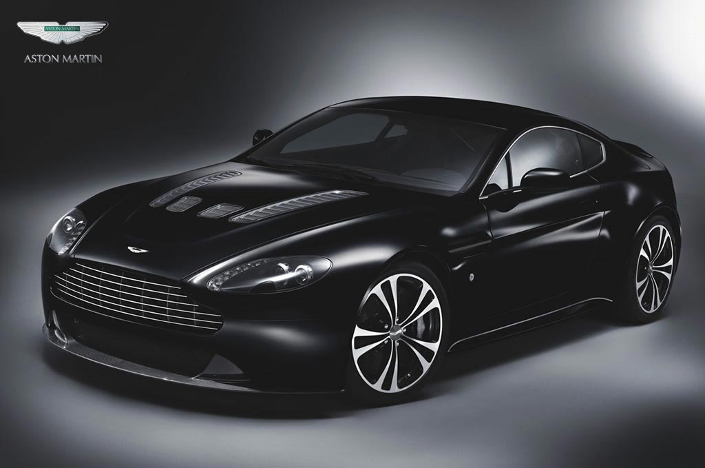 The Aston Martin DBS and V12 Vantage Carbon Black special editions come with
