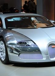 Three Limited Edition Bugatti Veyron Main Stars at Dubai Motor Show