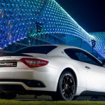 Maserati GranTurismo S MC Sport Line Car Revealed at Yas Marina Circuit in Abu Dhabi