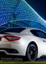 Maserati GranTurismo S MC Sport Line Car Revealed at Yas Marina Circuit in Abu Dhabi