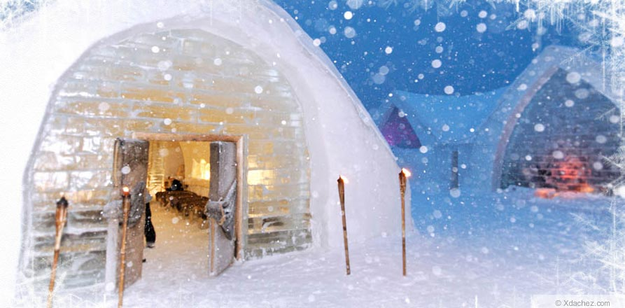 Hotel De Glace Ice Hotel In Quebeck Canada Gives You