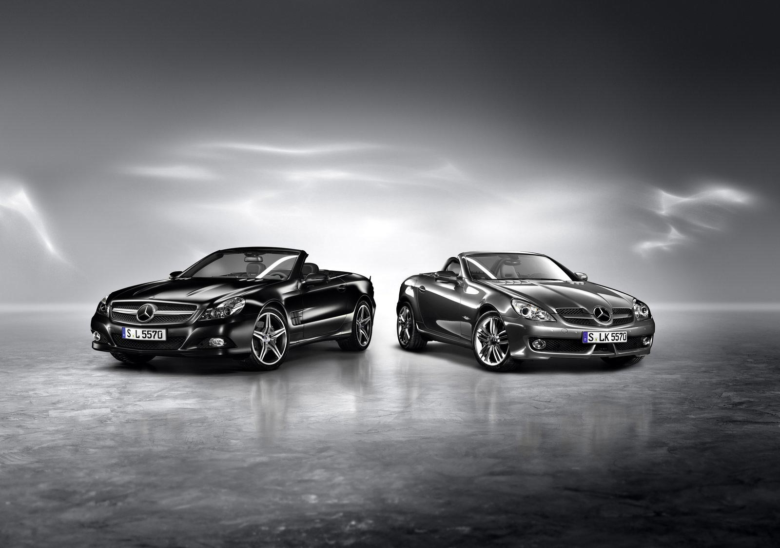 Mercedes-Benz-SL-Night-Edition-and-SLK-Grand-Edition