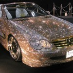 Mercedes-Benz SL600 – Luxury Crystal Benz Covered by 300,000 Swarovski Crystal
