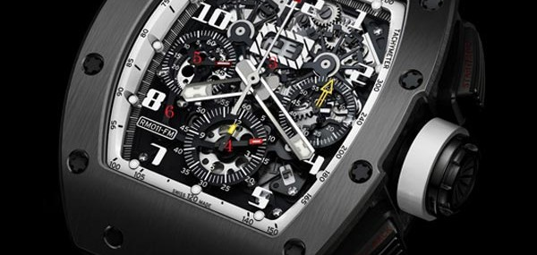 Richard Mille RM011 Ti Americas White Limited Edition Watch to celebrate the 2010 Winter Olympics