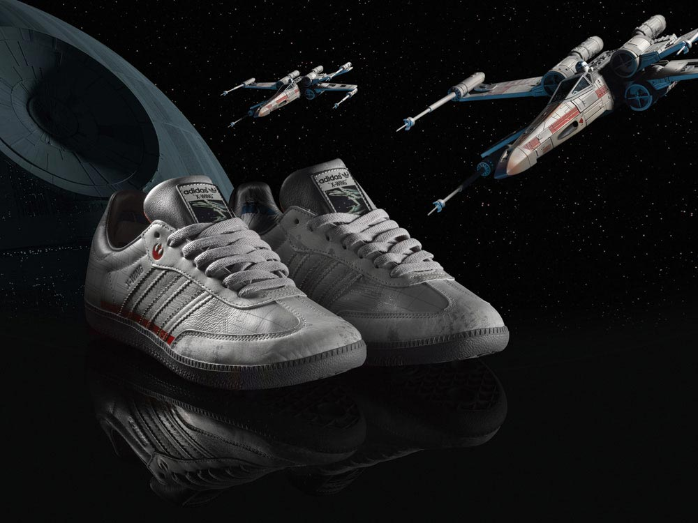 adidas originals star wars collection footwear and apparel. Black Bedroom Furniture Sets. Home Design Ideas