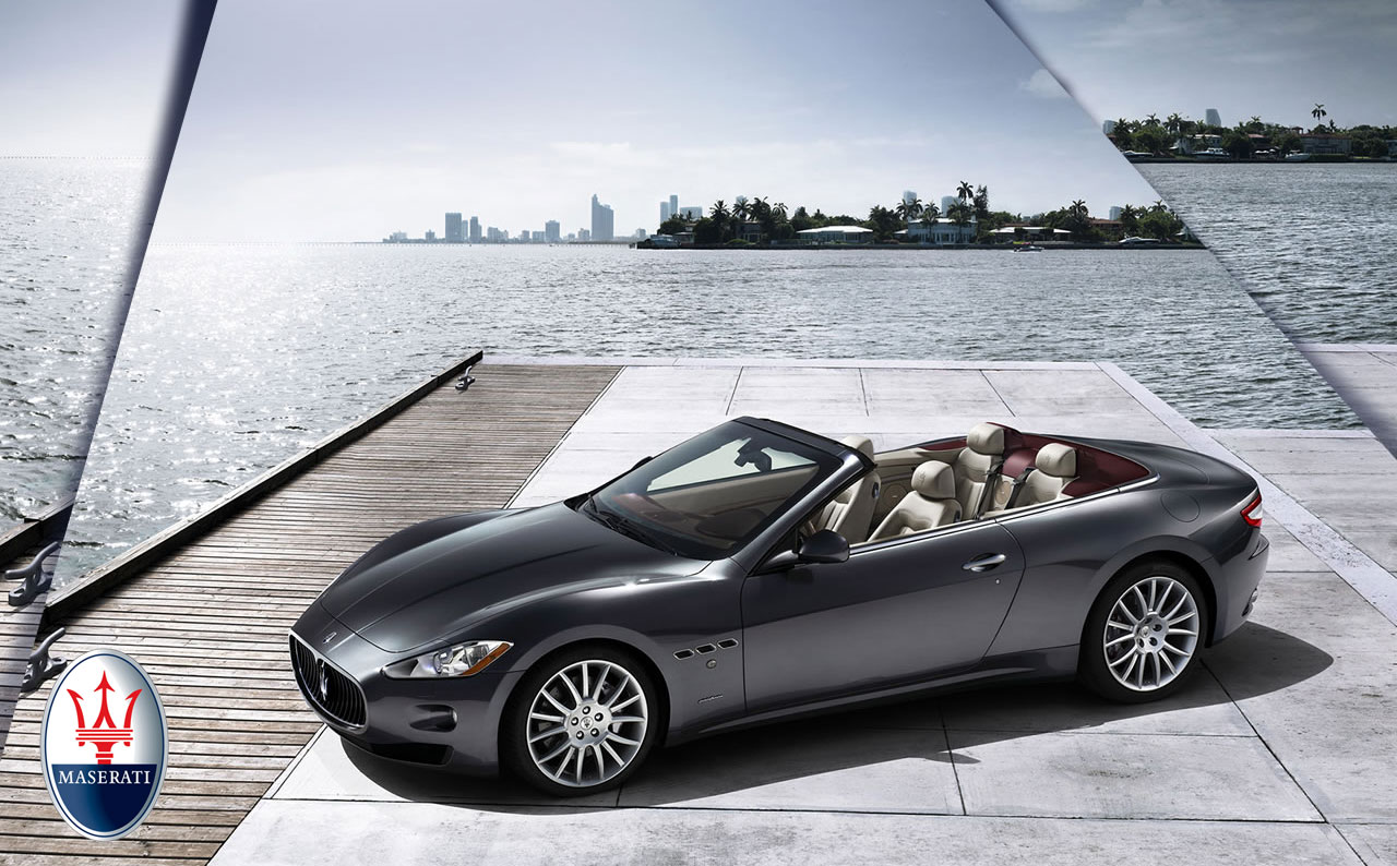 Maserati GranTurismo Convertible – Exclusive Four-seat Cabrio Promises Unique Driving Pleasure