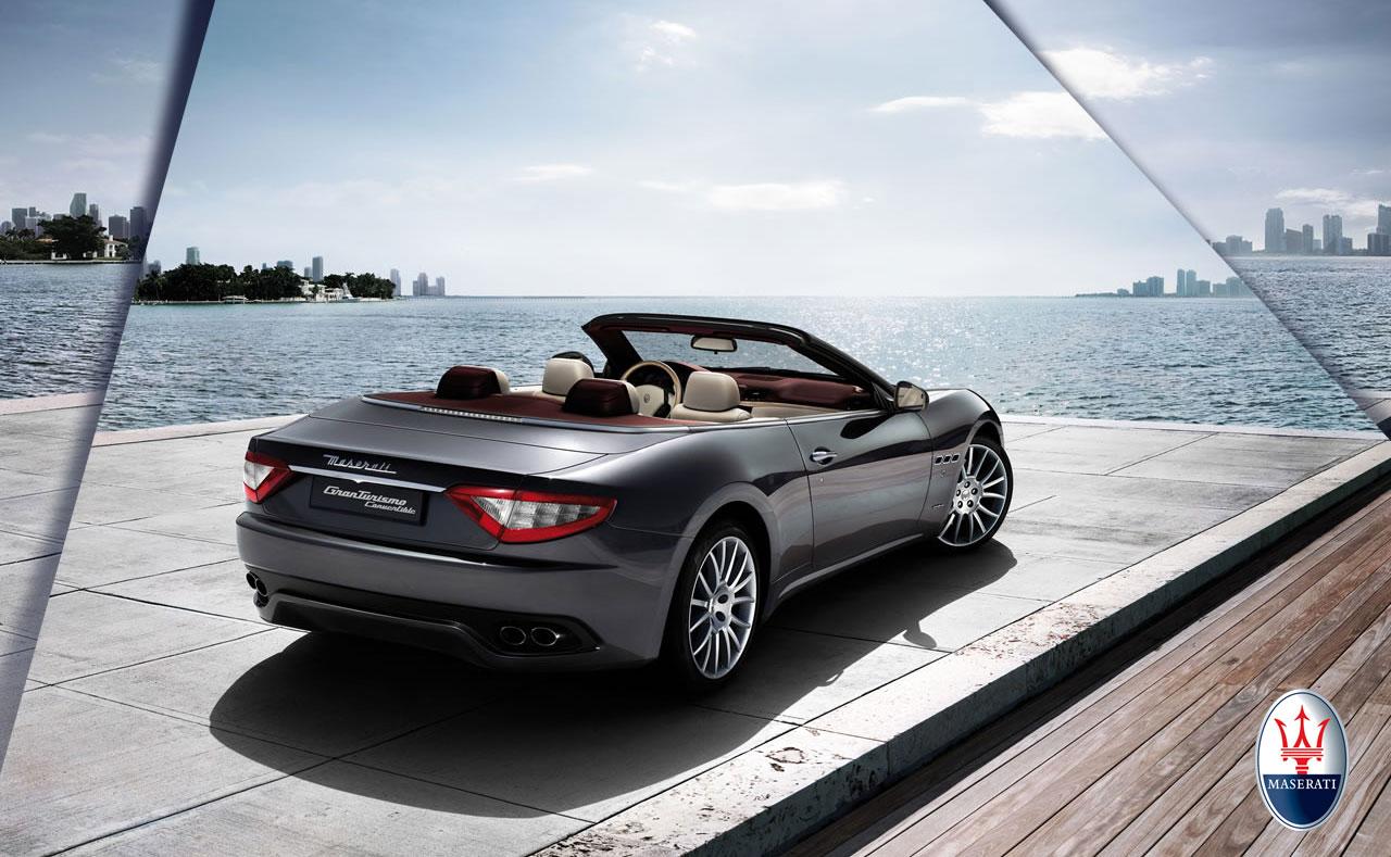 maserati granturismo convertible exclusive four seat cabrio promises unique driving pleasure. Black Bedroom Furniture Sets. Home Design Ideas
