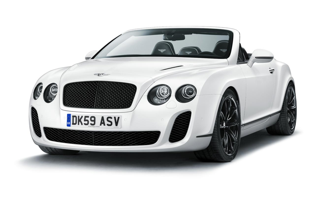 Bentley Continental Supersports Convertible Fastest Four-seat Convertible in the World