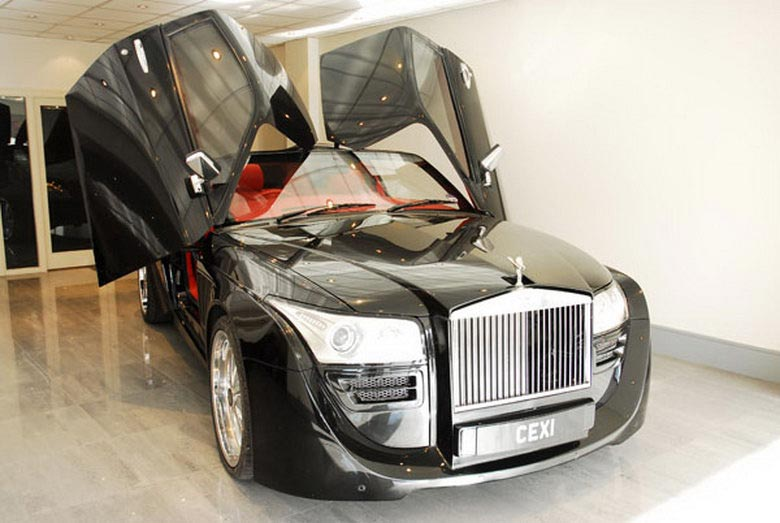 Black Ruby Rolls Royce Coupe For Just 12 Million