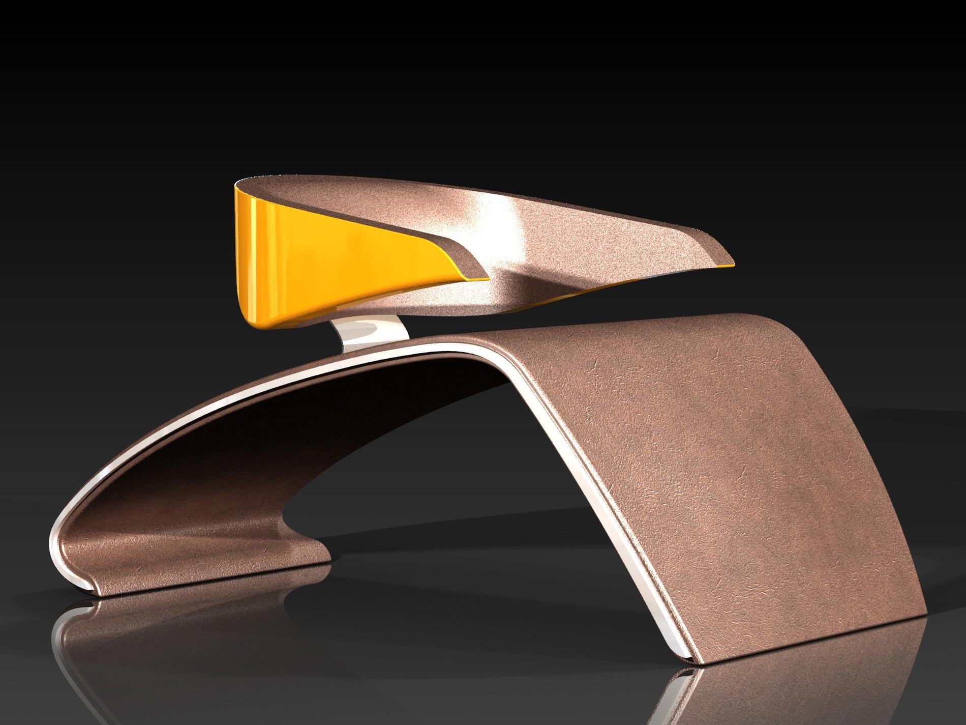 Porsche chair artistic piece of furniture extravaganzi for Artistic furniture design