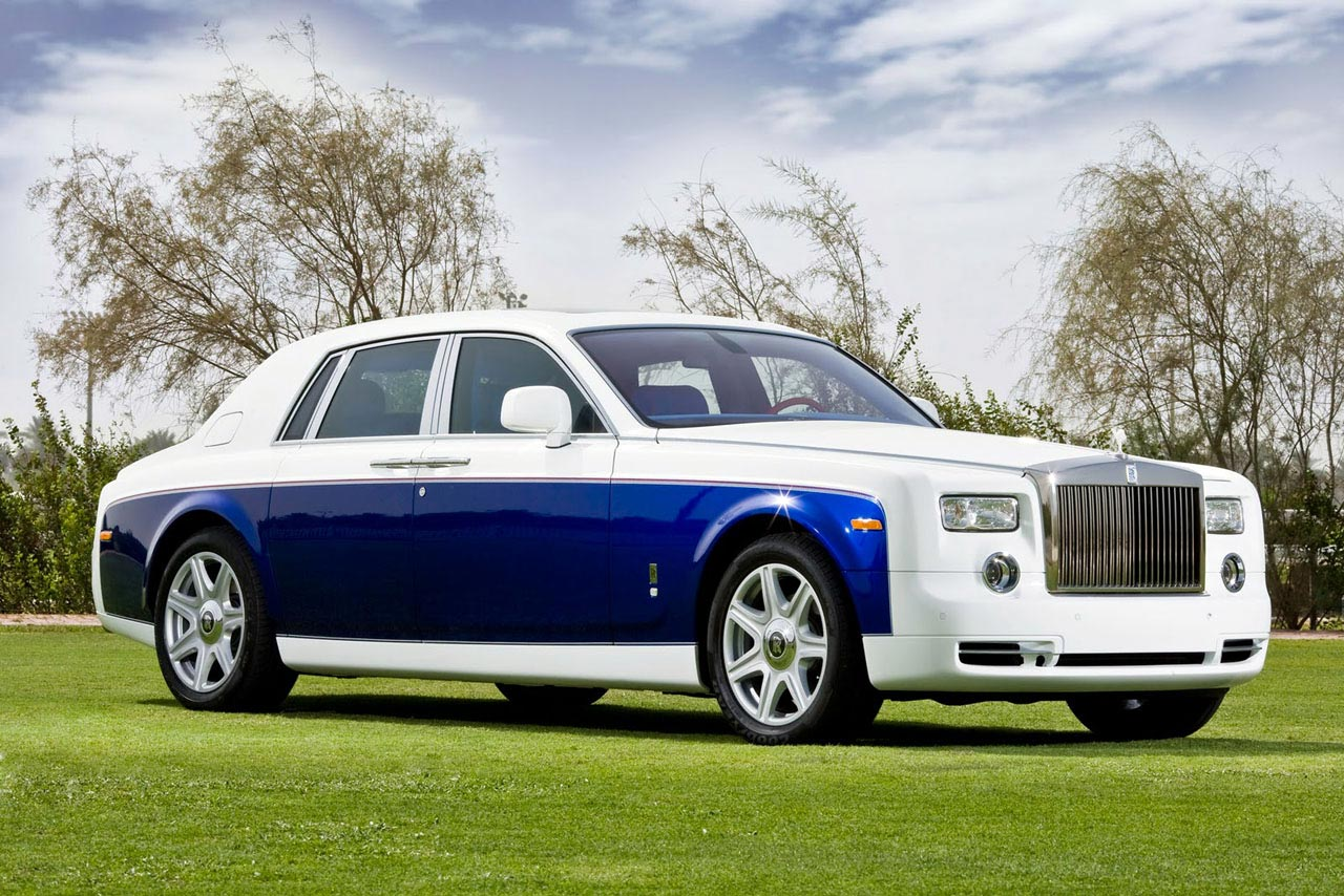 Rolls Royce Abu Dhabi Present Special Edition Yas Eagle Phantom Range