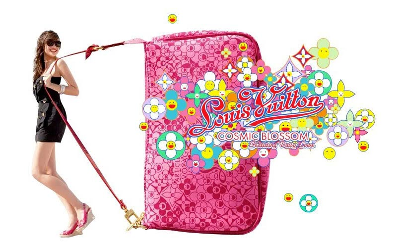 Louis Vuitton Spring/Summer 2010 Cosmic Blossom Collection – Bags Full of Smiling Flowers