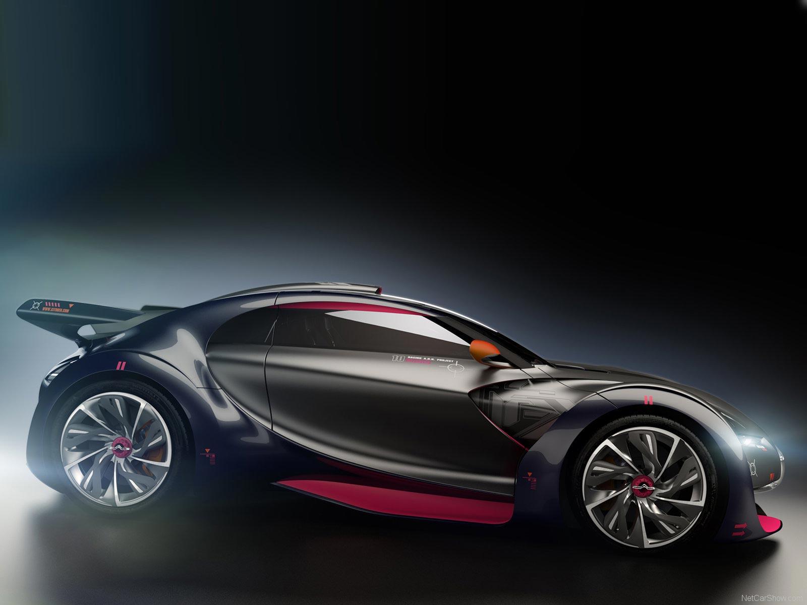 Citroen Survolt - яркий и стильный автомобиль