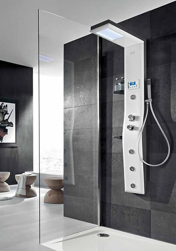 Etoile Thermostatic Shower Column Showering Experience