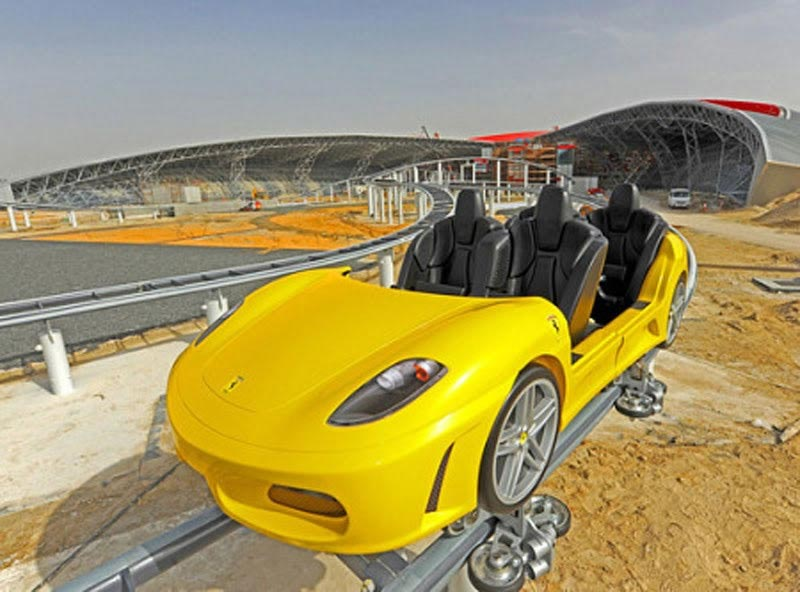 Ferrari GT Coaster Ride – One of 20 Amazing Ferrari Theme Park's Rides and Attraction