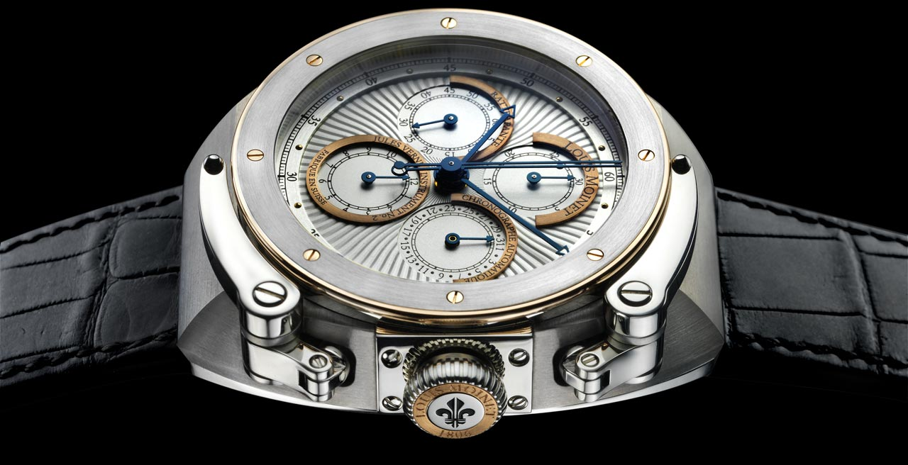 Louis Moinet Unveil Vernoscope With Jules Verne Instrument Watches at the Maison d&#8217;Ailleurs