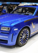 Mansory Rolls-Royce Ghost Blinged at Geneva Show