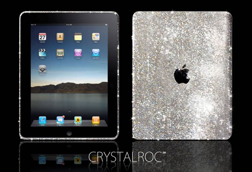 CrystalRoc Offers Swarovski Crystal Covered iPad
