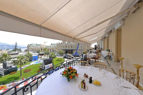 Watch the formula 1 monaco grand prix from the best spot for Prix hotel france