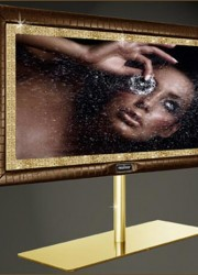 Stuart Hughes Presents World's Most Expensive Television – PrestigeHD Supreme Rose Edition