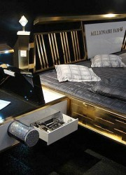 Sleep Like a King in Jado Steel's Golden Bed