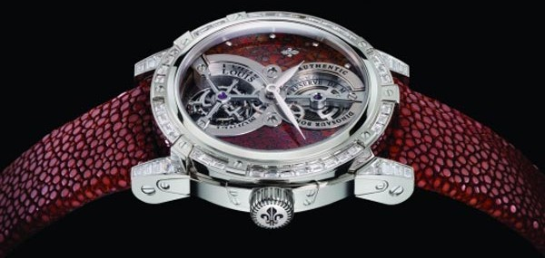Louis Moinet Jurassic Tourbillon Watch Contains Fragments of Authentic Fossilized Dinosaur Bones