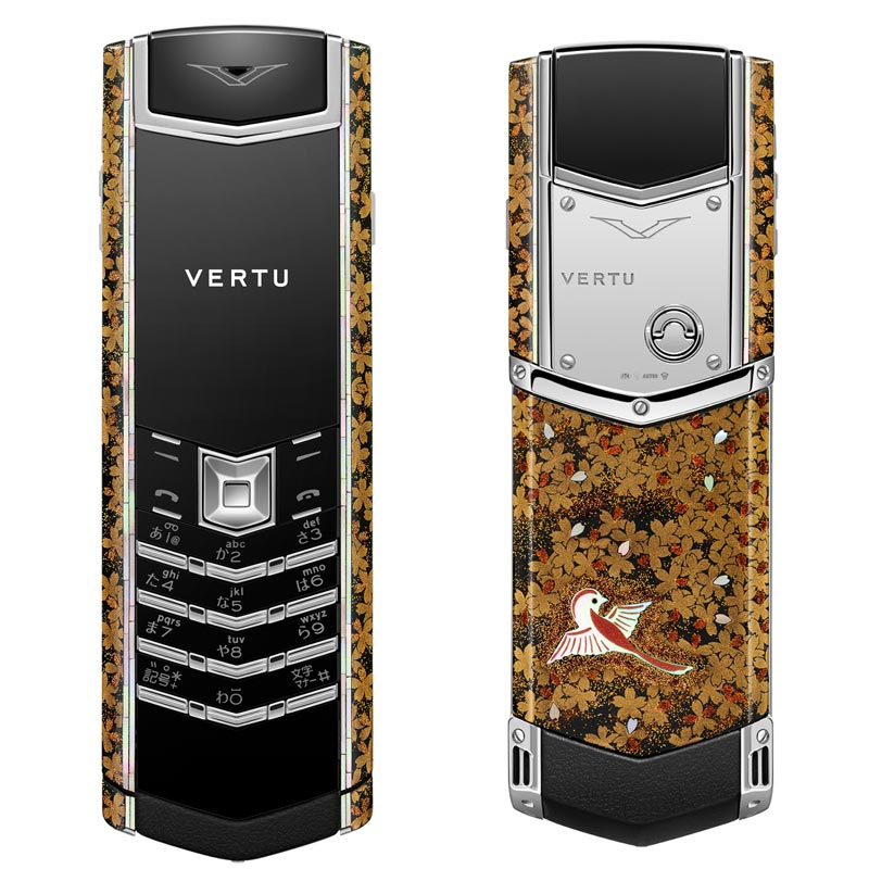 Four Vertu Gold Cell Phone Unveiled in Japan