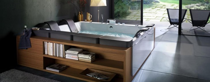 Thais Art Whirlpool Tub by BluBleu – Spa Experience in Your Bathroom