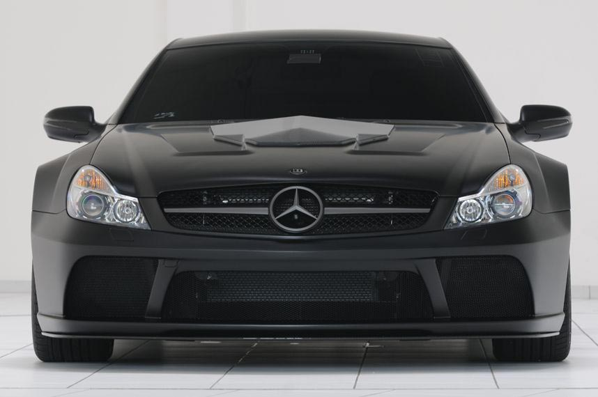 Brabus Mercedes SL65 Vanish – Very Expensive and Very Fast Black Series SL-Class Mercedes