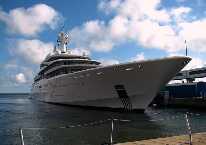 Eclipse - World's Largest and Most Expensive Yacht
