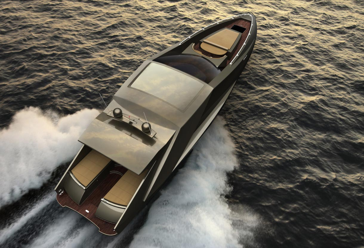 Lamborghini Concept Yacht Dream Machine For All Lambo