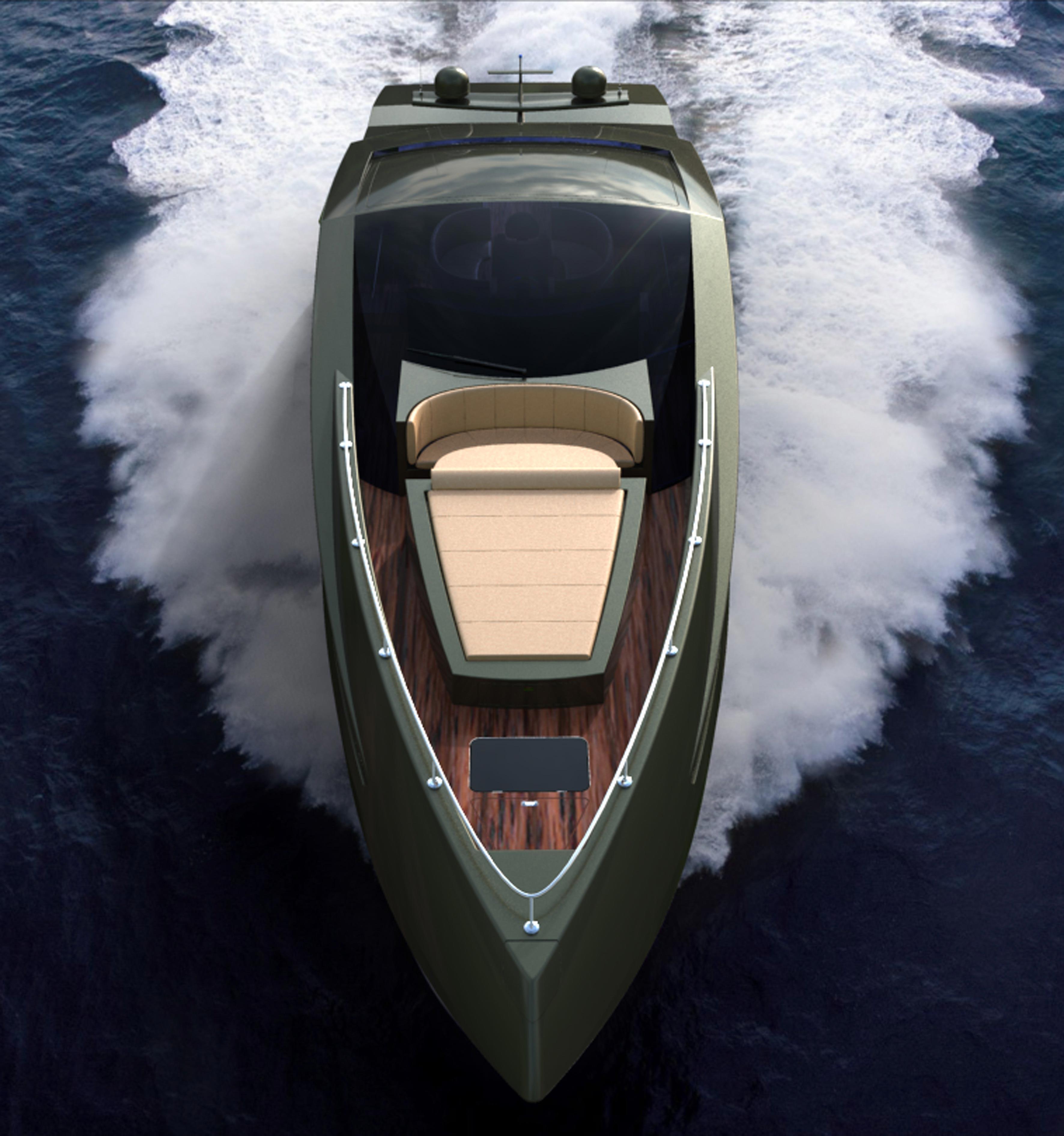 Lamborghini Concept Yacht Dream Machine For All Lambo
