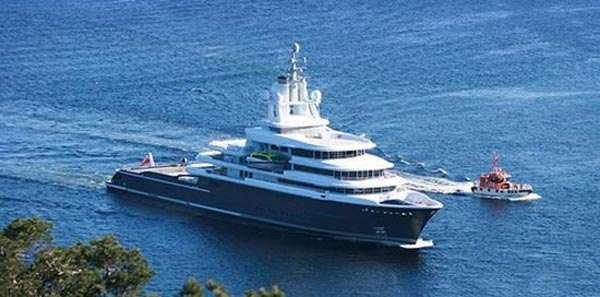 Luna Yacht - World's Largest Expedition Motor Yacht
