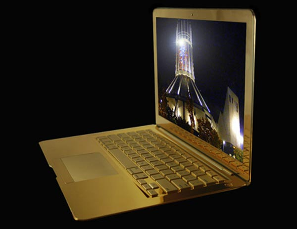 MacBook Air Supreme Fire Edition by Stuart Hughes – The World's Most Expensive MacBook Air